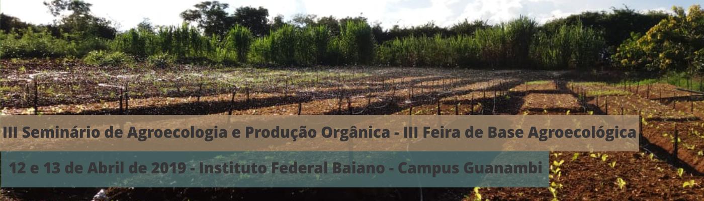 III Seminário de Agroecologia – Campus Guanambi