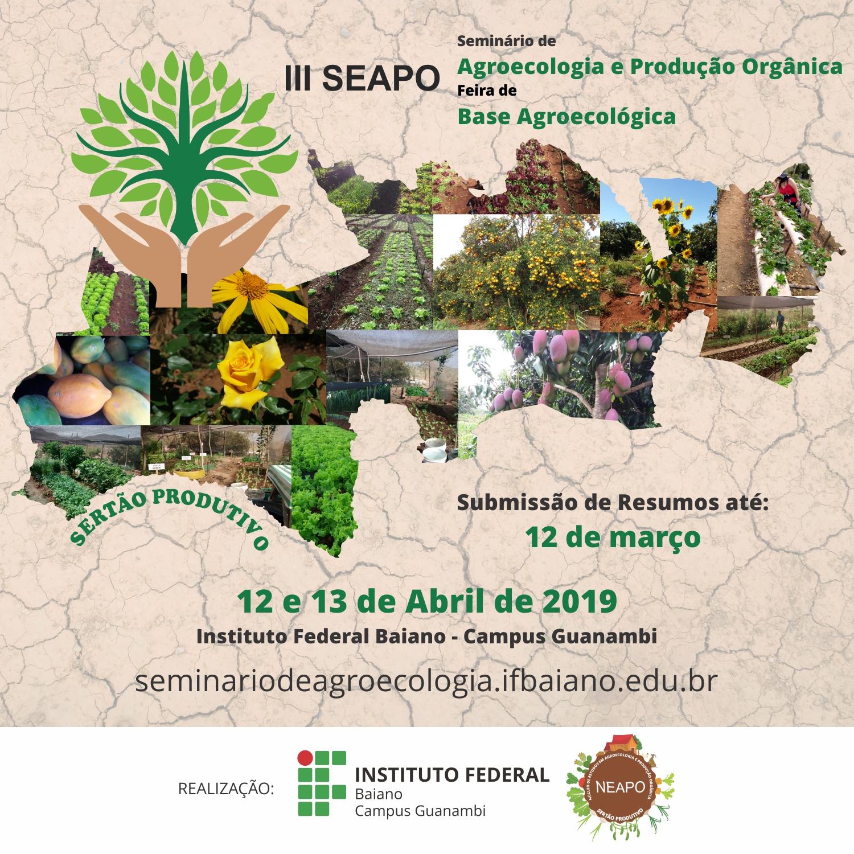 III Seminário de Agroecologia e Produção Orgânica